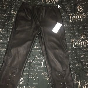 Zara leather pants